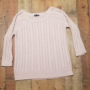 American Eagle Outfitters Light Pink Sweater